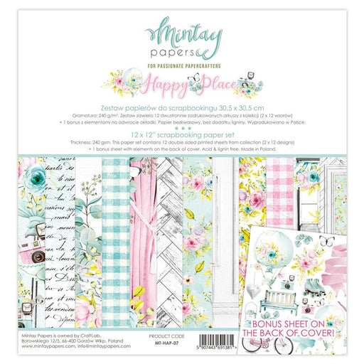 MINTAY BY KAROLA 12 X 12 HAPPY PLACE PAPER PAD