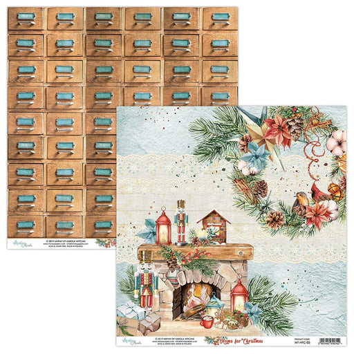 MINTAY BY KAROLA 12 X 12  PAPER HOME FOR CHRISTMAS 03