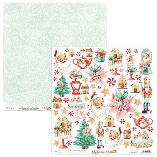 MINTAY BY KAROLA 12 X 12 PAPER ELEMENTS THE SWEETEST XMAS 09