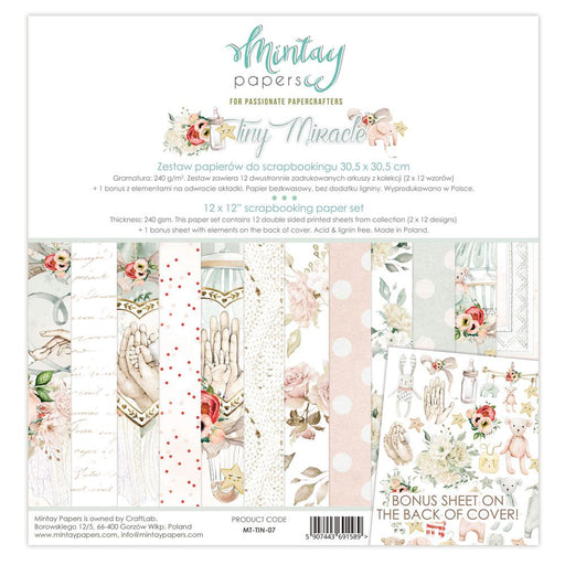 MINTAY BY KAROLA 12 X 12  PAPER PAD TINY MIRACLE