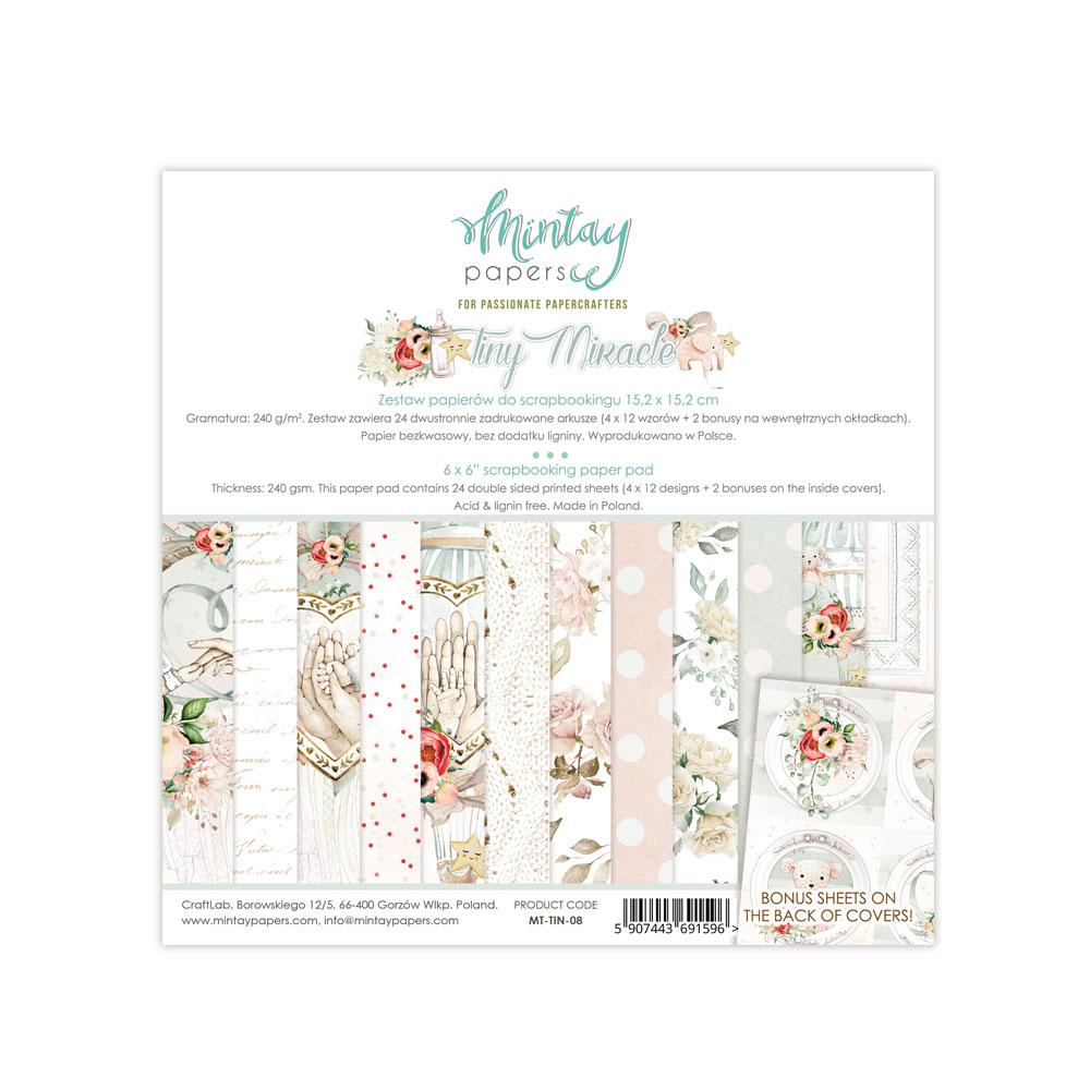 MINTAY BY KAROLA 6 X 6  PAPER PAD TINY MIRACLE