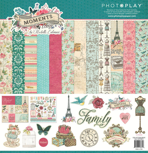 PHOTOPLAY  12 X12 COLLECTION PACK MOMENTS IN TIME