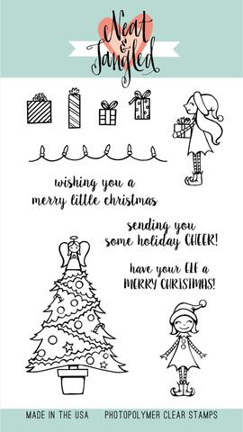NEAT AND TANGLED CLEAR STAMP MERRY LITTLE CHRISTMAS
