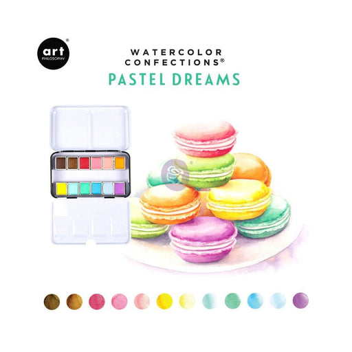 PRIMA WATERCOLOR CONFECTIONS PASTEL DREAMS