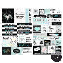 PRIMA   FLIRTY FLEUR STICKERS WORDS