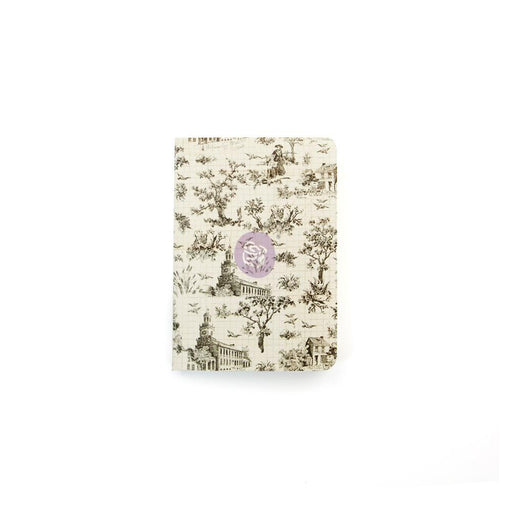 PRIMA NOTEBOOK INSERTD PASSPORT SIZE OH TOILE