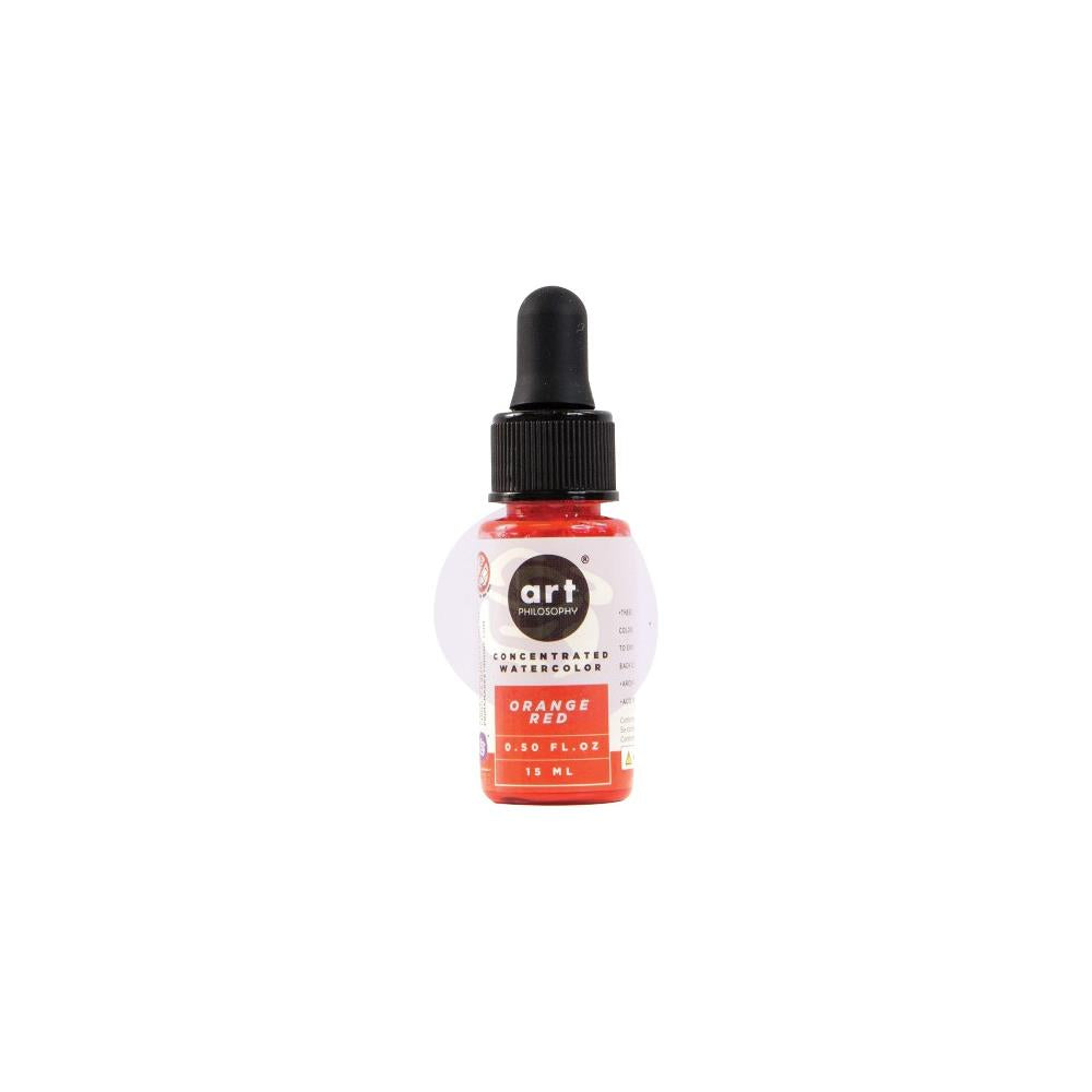 PRIMA CONCENTRATED WATERCOLOR  ORANGE RED
