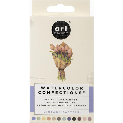 PRIMA WATERCOLOR CONFECTIONS  VINTAGE PASTELS