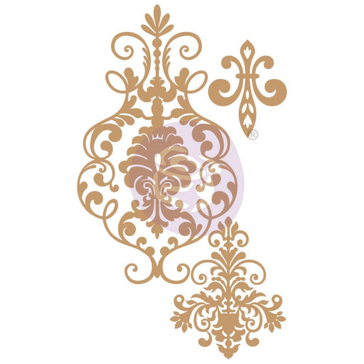 PRIMA CHIPBOARD DIECUTS  ELEGANT DAMASK