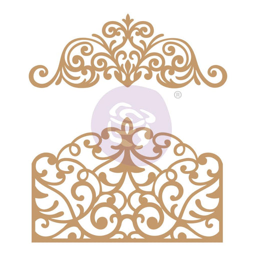 PRIMA CHIPBOARD DIECUTS  FLOURISH GATE