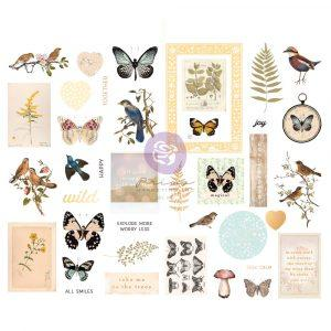 PRIMA  NATURE LOVER CHIPBOARD STICKERS