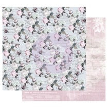 PRIMA 12 12 PAPER POETIC ROSE COLL BUZZ WORDS