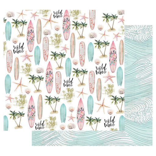 PRIMA SURFBOARD  COLLECTION 12 X 12 PAPER WILD WAVE