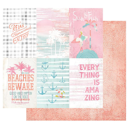 PRIMA SURFBOARD  COLLECTION 12 X 12 PAPER RELAX UNWIND ENJOY