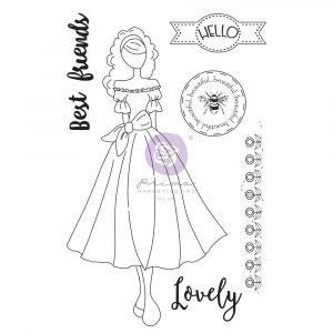 PRIMA  JULIE NUTTING STAMP  MELISSA