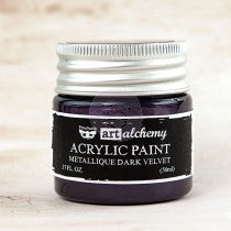 PRIMA ACRYLIC PAINT METALLIQUE DARK VELVET