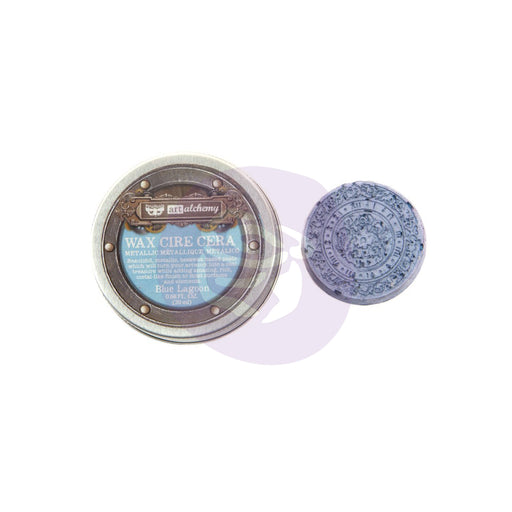 PRIMA FINNABAIR METALLIQUE WAX BLUE LAGOON