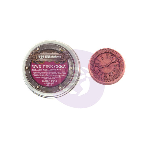PRIMA FINNABAIR METALLIQUE WAX INDIAN PINK