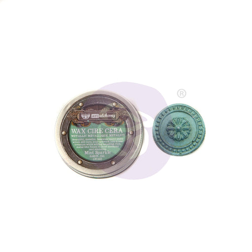 PRIMA FINNABAIR METALLIQUE WAX MINT SPARKLE
