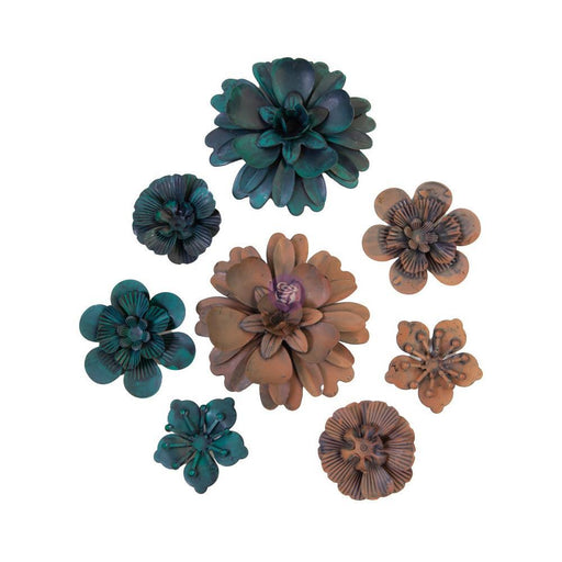 PRIMA MECHANICALS METAL EMBELLISHMENTS DESERT FLOWERS