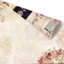 PRIMA 12X12 PAPER LOVE CLIPPINGS COLLECTION DEEPLY IN LOVE