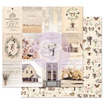 PRIMA 12 12 PAPER SPRING FARMHOUSE COLL SIMPLE THINGS