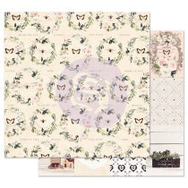 PRIMA 12 12 PAPER SPRING FARMHOUSE COLL FULL HEART