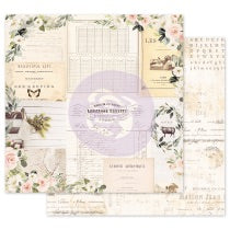 PRIMA 12 12 PAPER SPRING FARMHOUSE COLL GATHER