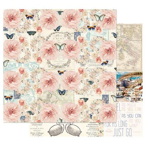 PRIMA CAPRI COLLECTION  12 X12 PAPER  PUNTA DEL MONACO