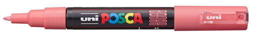 POSCA PAINT MARKER PC1M BULLET SHAPED  CORAL PINK