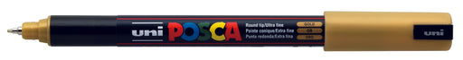 POSCA PAINT MARKER PC1MR PIN GOLD