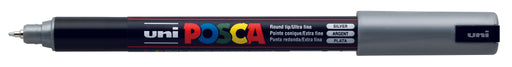 POSCA PAINT MARKER PC1MR PIN SILVER