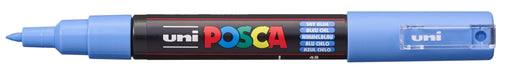 POSCA PAINT MARKER PC1M BULLET SHAPED  SKY BLUE