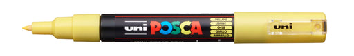 POSCA PAINT MARKER PC1M BULLET SHAPED  YELLOW