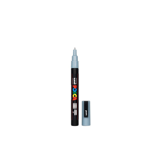 POSCA PAINT MARKER PC3M BULLET SHAPED GRAY