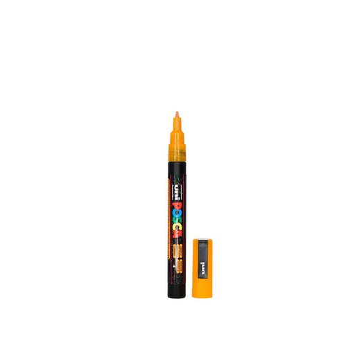 POSCA PAINT MARKER PC3M BULLET SHAPED LIGHT ORANGE