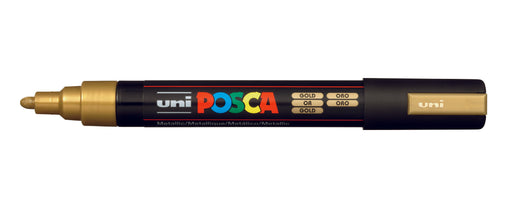 POSCA PAINT MARKER PC5M BULLET SHAPED GOLD