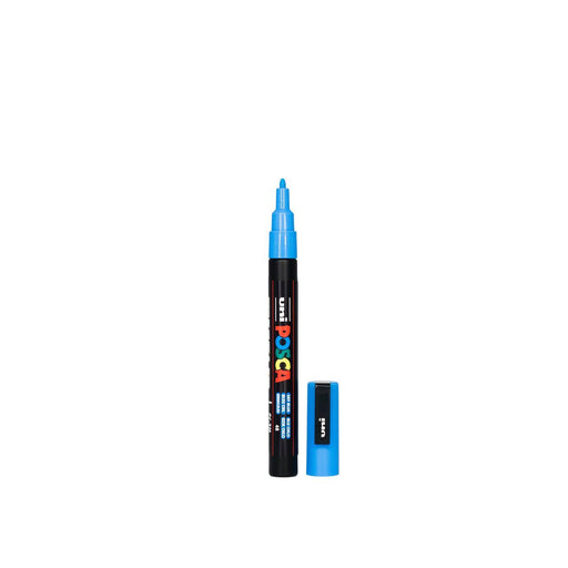 POSCA PAINT MARKER PC5M BULLET SKY BLUE
