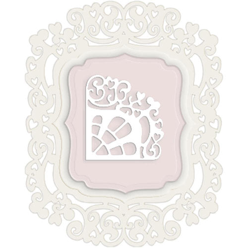 LITTLE DARLING DIE POLKADOODLES REGAL FRAME