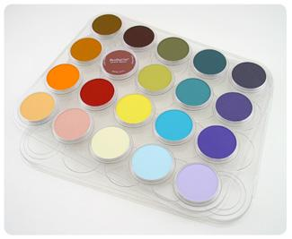 PANPASTEL PALETTE TRAY WITH LID 20 COLOURS