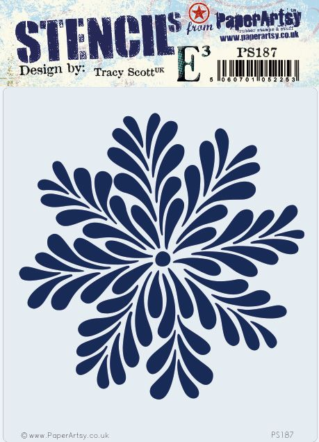 PAPER ARTSY  STENCIL BY TRACY SCOTT 187