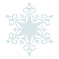 KAISER 12X12 WONDERLAND COLLECTION SNOWFLAKE