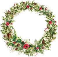 KAISER 12X12 PEACE AND JOY  COLLECTION  LEAFY WREATH