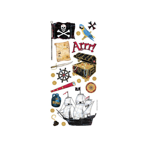 PIRATES STICKER SHEET