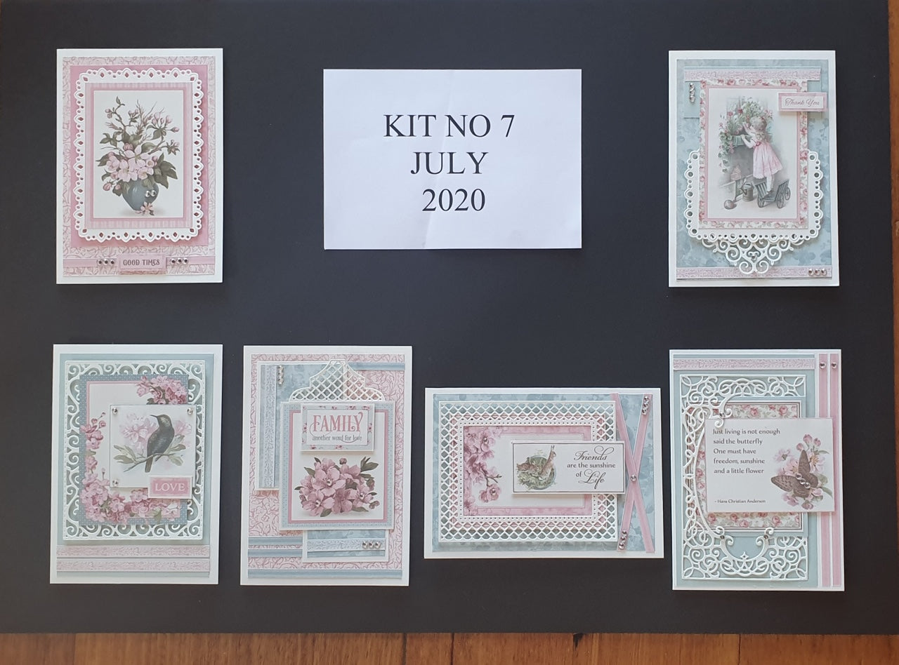 Monthly Card Kit 7 2020