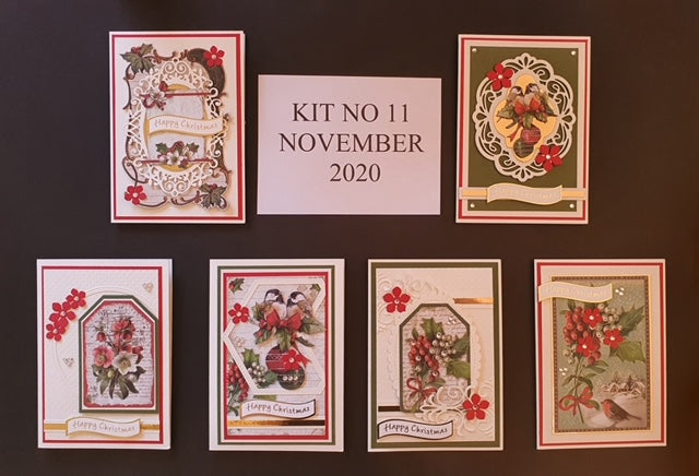 Monthly Card Kit 11 2020