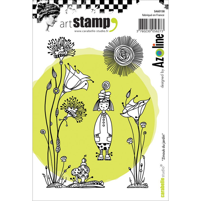 ART STAMP  BACKGROUND  ZINOUK