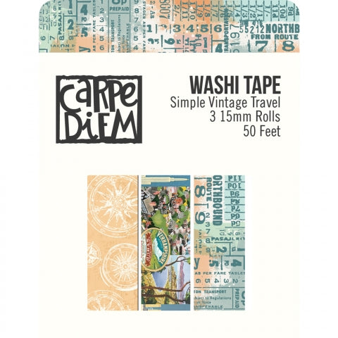 SIMPLE STORIES  VINTAGE TRAVELER WASHI TAPE