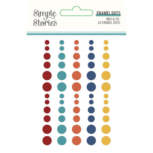 SIMPLE STORIES  BRO AND CO DOTS