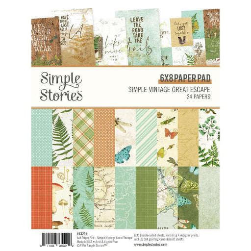 SIMPLE-STORIES-6-X-8-GREAT-ESCAPE-PAPER-PACK